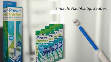 Power-Fresher WC-Bürste